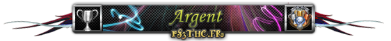 Trophées Argent